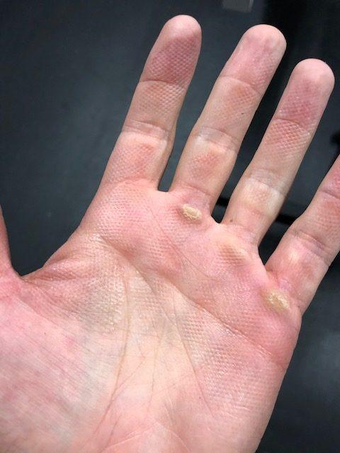 Rep Aggressive Stainless Power Bar Hand - Garage Gym Lab