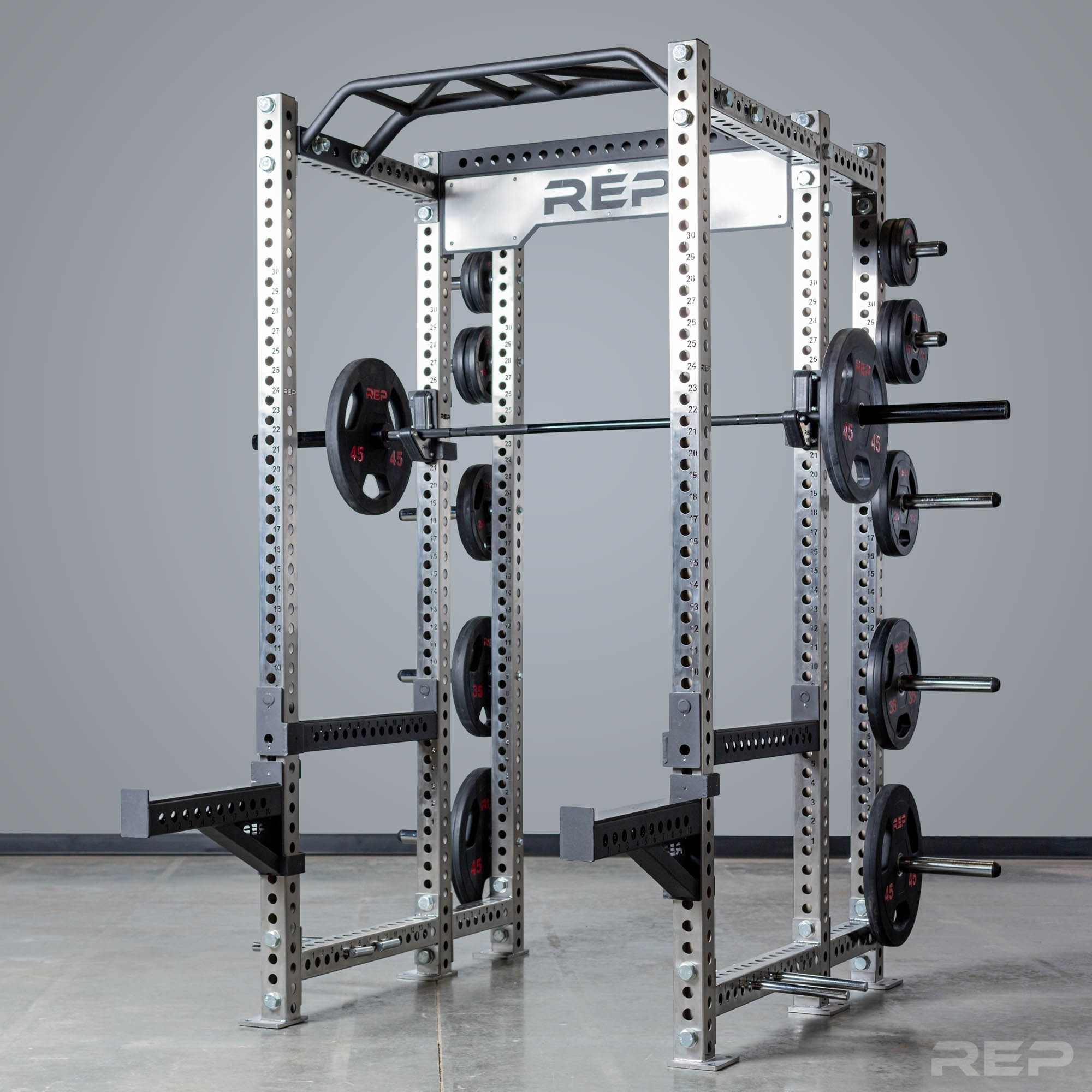 Rep Fitness PR-5000 Stainless Rack - Garage Gym Lab