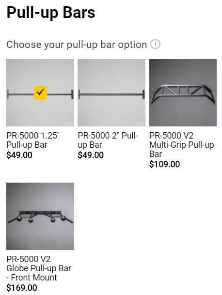 Rep Fitness PR 5000 v2 - Pull Up Bars - Garage Gym Lab
