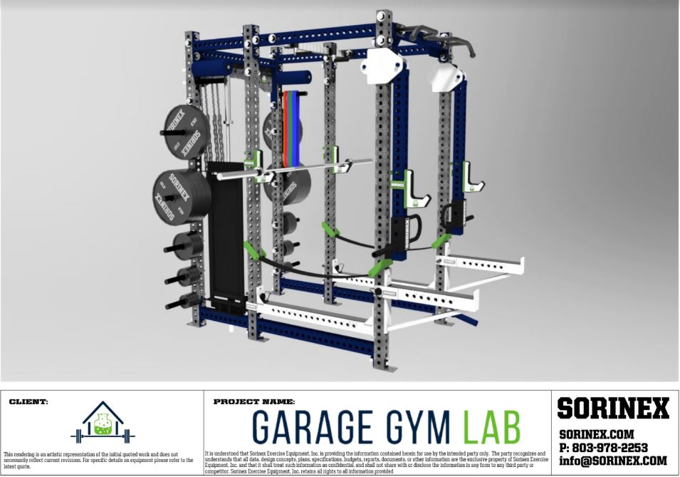 Sorinex XL - Experience 2 - Garage Gym Lab