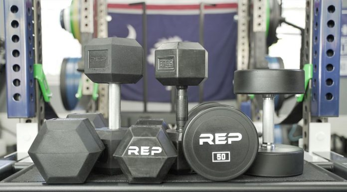Rep Fitness Dumbbells - Cover - Garage Gym Lab