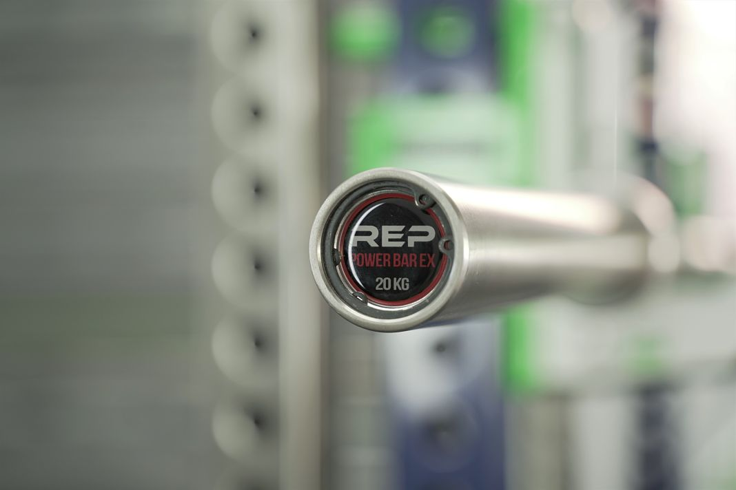 Rep Fitness Power Bar EX - Cover - Garage Gym Lab