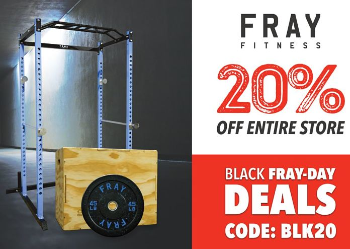 Fray Fitness Black Friday 2019 - Garage Gym Lab