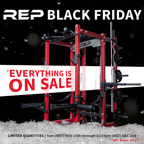 Rep Fitness Black Friday Poster