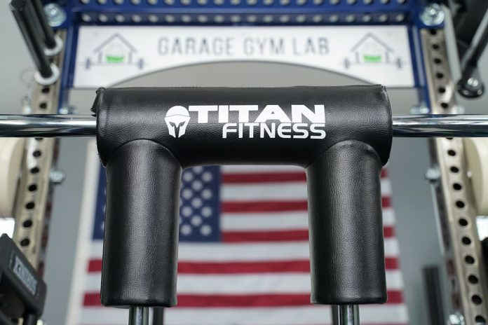 Titan Fitness Safety Squat Bar v2 - Cover Photo - Garage Gym Lab