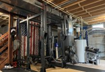 Morning Lifter - Basement Gym