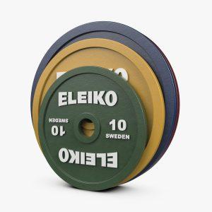 Eleiko IPF Calibrated Powerlifting Plates