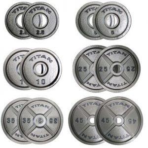 Titan Cast Iron Olympic Plates