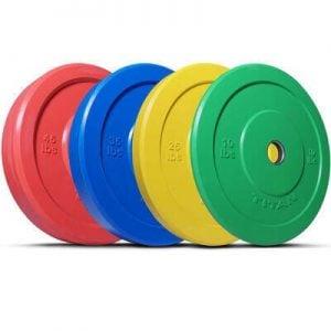 Titan Fitness Color Bumper Plates