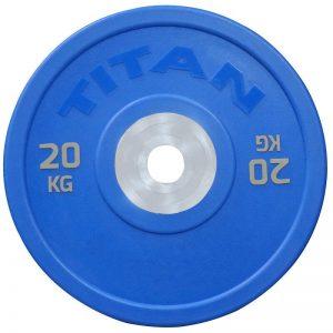 Titan Fitness KG Urethane Bumper Plates