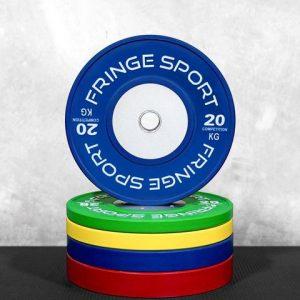 Fringe Sport Color Competition KG Bumper Plates