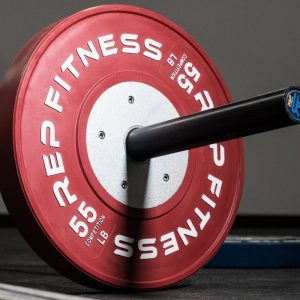 Rep Fitness Competition plates 55LB
